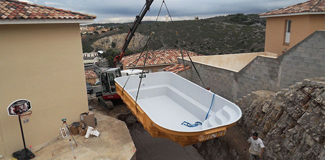 Installation d 39 une piscine coque en 10 tapes avec neptune for Installation piscine coque