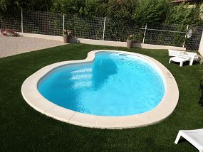 photo piscine coque haricot