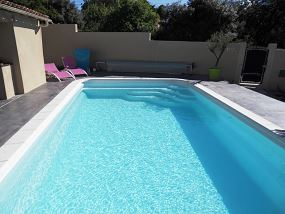 piscine large rectangle