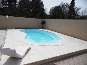 Photo haricot piscine - Photo piscine en polyester