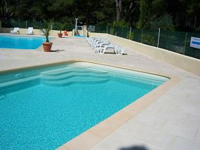 Photo Piscine de camping, 10*4 - Photo piscine en polyester