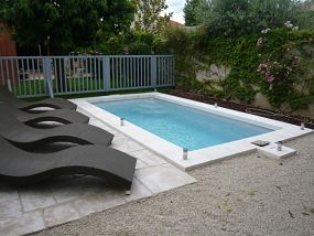 Piscine polyester, petit bassin - piscine coque polyester