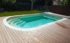 piscine polyester 6m ovale