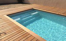 photo piscine coque du mod le lac de rousset photos piscines coque. Black Bedroom Furniture Sets. Home Design Ideas